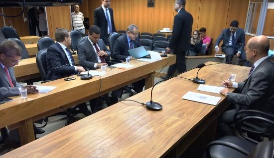 CCJ da ALBA  presidido por Joseildo Ramos.