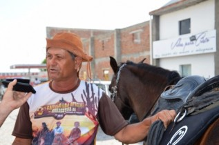 Vereador Marivaldo autor do Projeto que criou o dia municipal do vaqueiro.