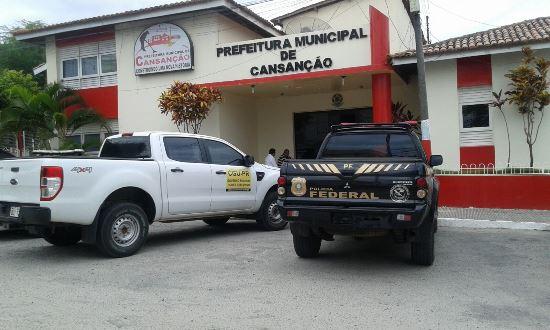 Policia Federal em Cansançao