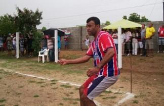 Crispim ex-jogador da seleção coiteense, joga pelo Bahia de Almas.