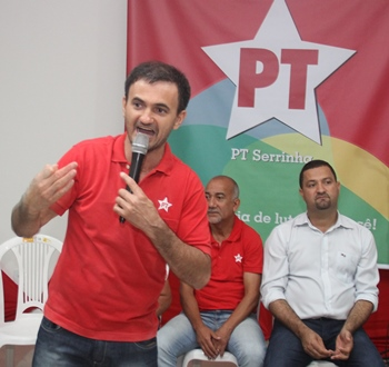 Shodan presidente municipal do PT de Serrinha