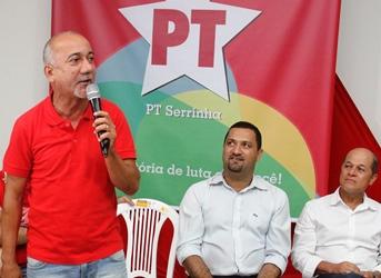 Teixeira disse que tem uma grande história de luta no PT desde a fundação do partido.
