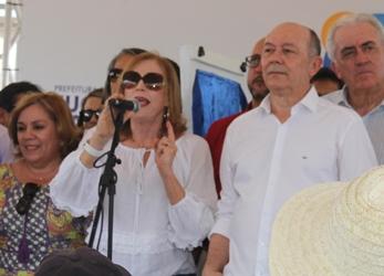 Fátima conta com o apoio do deputado federal e esposo José Nunes.