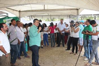 Alex disse que vai lutar para ajudar a agricultura familiar não ter perdas no PAA.