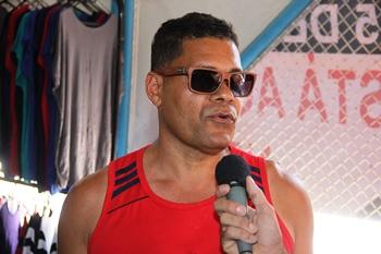 Jobson Vander é um dos coordenadores, ele é natural de Riachão do Jacuípe.