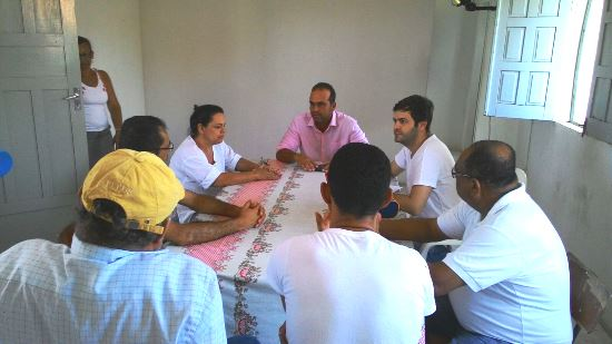 Reunião entre Sindicato e Poder Público.