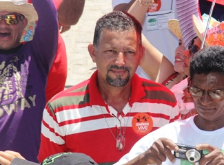 João Batista presidente do STTR de Riachão do Jacuípe.