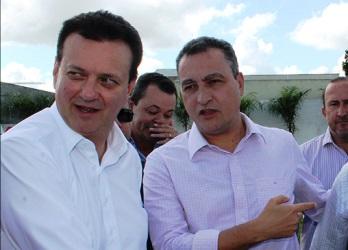 Ministro e governador são aliados políticos na Bahia e no Brasil.