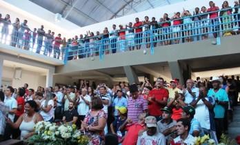 Grande público marcou presença.