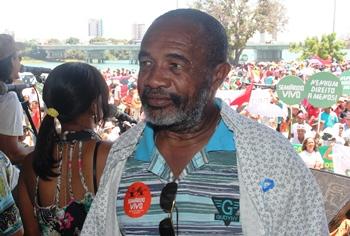 Teodomiro Paulo figura presente nos movimentos sociais a décadas.