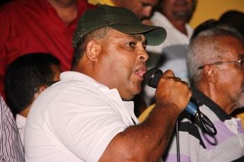 Vibrante locutor promete ajudar muito o candidato apoiado pelo grupo liderado por Laurindo.