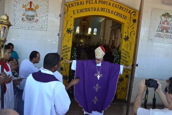 abertura da porta da misericordia - Diocese de Serrinha - Foto - des- Raimundo Mascarenhas