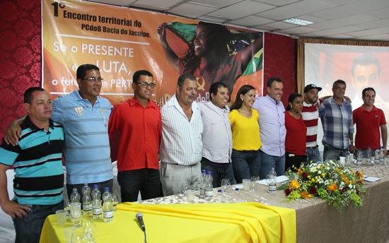 Diretório Municipal do PCdoB jacuipense.
