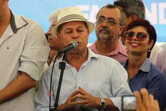 Joseildo Ramos também pediu mais beneficio através de sistema de abastecimento d'água.