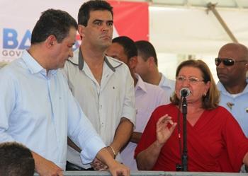 Del Carmen falou de sua luta que contribuiu para a chegada da água ao Gregório.