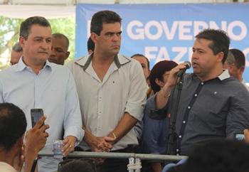Alex pediu novas intervenções do governo no setor hídrico de Queimadas.