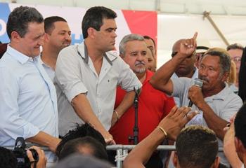 Mariano fez um discurso que arrancou aplauso do público presente.