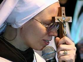 Irmã Kelly Patricia é cearense de Fortaleza e tem 44 anos.