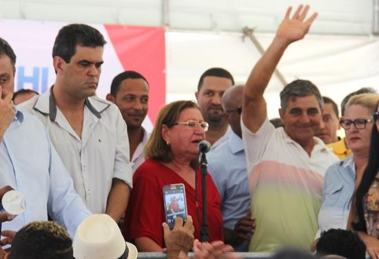Ex-prefeito Serginho também se considera um dos responsáveis pela conquista da obra.