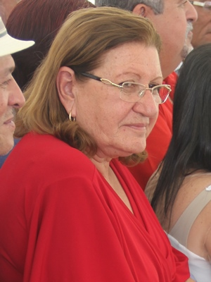 Del Carmen participou de praticamente todos os atos durante a gestão de Serginho.