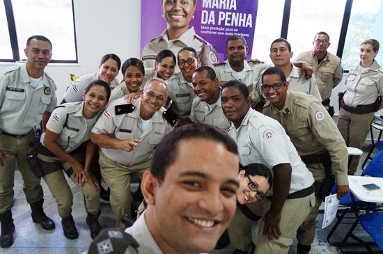 pms do 16 batalhão serrinha - operação maria da penha