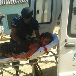 O ferimento mais grave atingiu o pulmão da vítima.