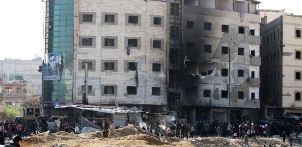 ataque terrorista na siria