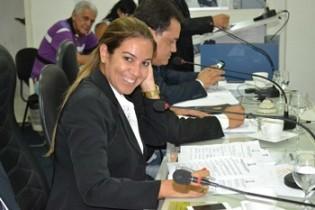 Edylene Ferreira - presidente da Câmara.