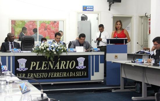 Presidente da Câmara Edylene Ferreira se diz preparada para assumir cargo mais alto no município.