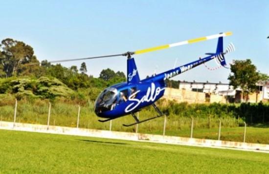 helicoptero da sallo