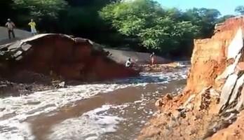 rompimento de barragem em barra do mendes