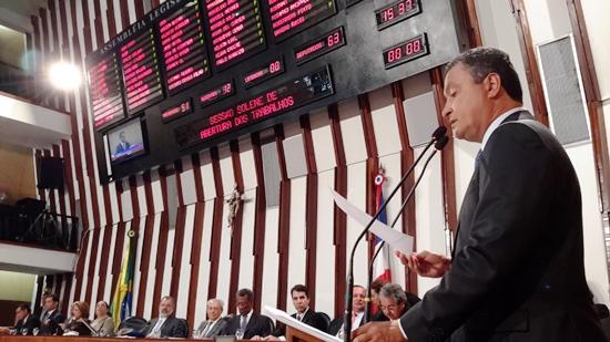 rui abre trabalhos do legislativo - 2016
