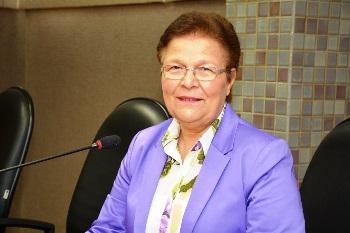 Fátima Nunes deputada do PT está no terceiro mandato.