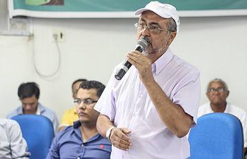 Ismael Ferreira prefeito de Valente - vice presidente do CONSISAL