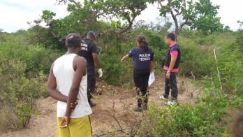 Polícia deve iniciar minucioso trabalho para identificar a vítima e a causa.