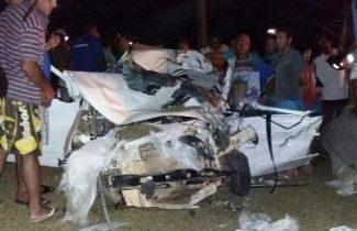 Duas pessoas morreram em acidente no sudoeste da Bahia (Foto: Wilker Porto/ Brumado Agora)