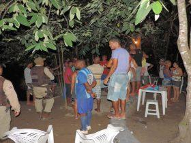 Adolescente morreu afogado em rio durante uma festa no município de São Desidério