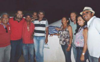 comunidade de sucupira em serrinha - entrega de cisternas - 2