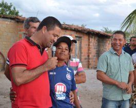 comunidade de sucupira em serrinha - entrega de cisternas - 4