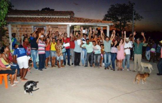 comunidade de sucupira em serrinha - entrega de cisternas - des