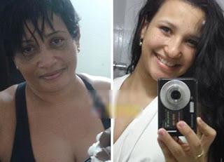 Mãe e filha vítima da violência urbana