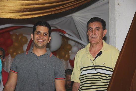 Solidariedade e PSD também aceitaram o convite para festa.PSD garante está firme com Ismael.