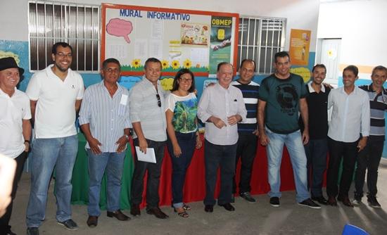 Representantes de grupos politico que vão se confrontar demostraram unidade  em prol de Barreiros