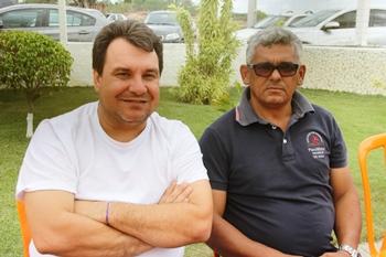 Izaque Junior (de branco) depois de dois mandatos apoiou Nafitel que saiu vencedor em 2012