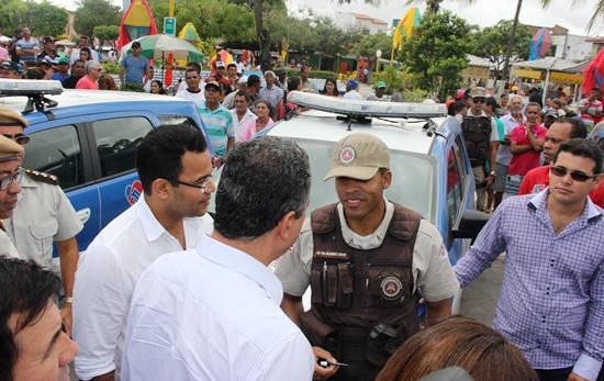 Entrega de viaturas a cinco municípios do território do sisal | Foto: Raimundo Mascarenhas