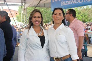 Enfermeira Luciana e Itácia dizem que estão comprometidas para o bom funcionamento da unidade | foto: Raimundo Mascarenhas