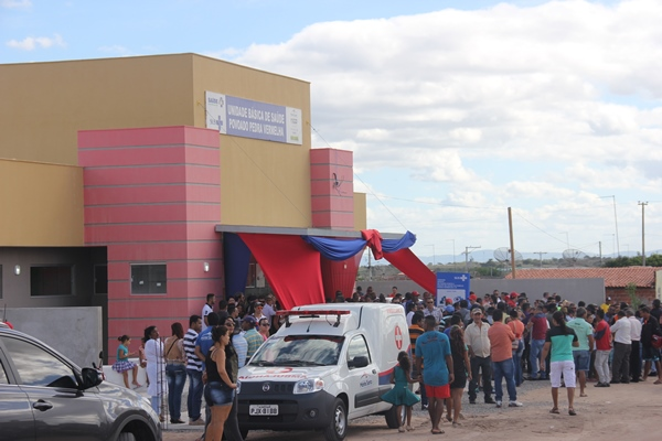 Unidade de Pedra Vermelha é a terceira inaugurada no Município