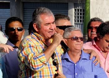 Ângelo Coronel garantiu a população que vai continuar honrando os votos recebidos no Município