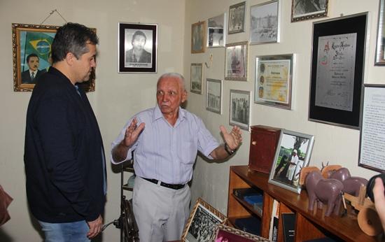 Zeca Batista recebeu a visita do deputado Alex da Piatã que disse ter ficado impressionado com tamanha organização