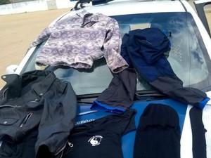 Suspeito abandonou roupas durante fuga em Jacobina